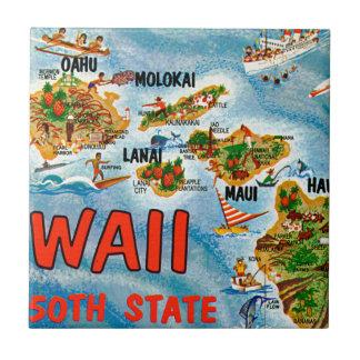 Carreau Salutations d'Hawaï