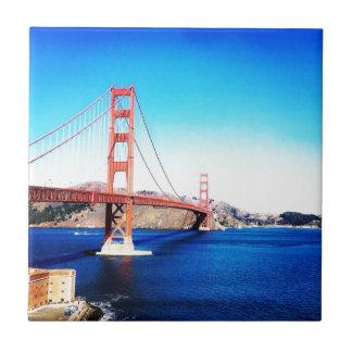 Carreau San Francisco golden gate bridge la Californie
