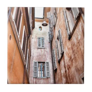 Carreau Scène de ville de l'Italien IMG_1785 2