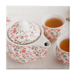Carreau Service à thé en céramique