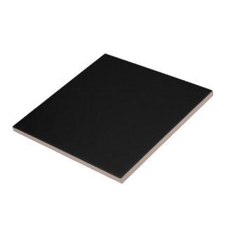 Carreau Seulement couleur solide fraîche noire OSCB18