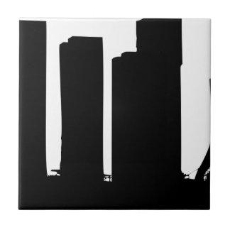 Carreau Silhouette de paysage urbain