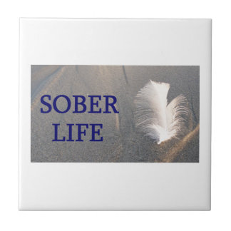 Carreau Sober life Plume