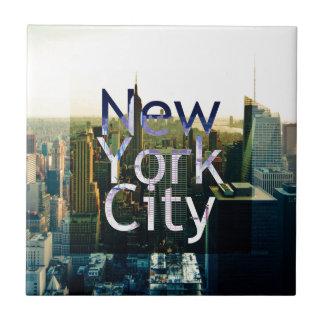 Carreau Souvenir de New York City