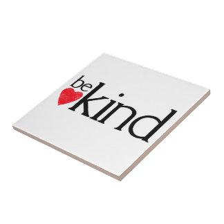 Carreau Soyez aimable - des sujets de gentillesse