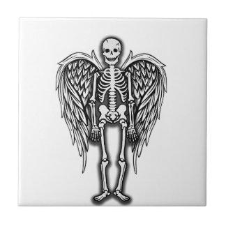 Carreau Squelette d'ange