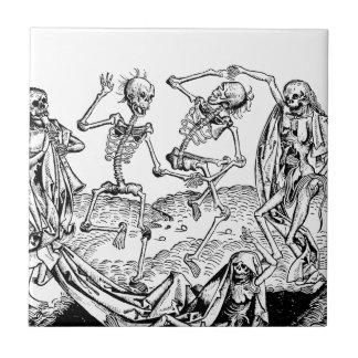 Carreau Squelettes - Halloween