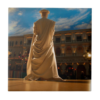Carreau Statue vivante