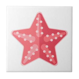 Carreau Style rose de primitif d'étoiles de mer