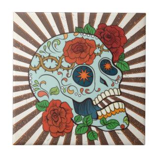 Carreau Sucre génial Skulls Dia de los Muertos