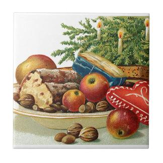 Carreau Sucreries vintages de Noël