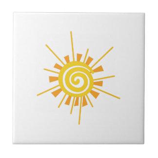 Carreau Sun abstrait