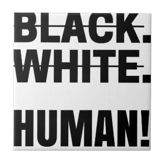 Carreau Tasse humaine blanche noire de sweat - shirt à