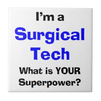 Carreau technologie chirurgicale