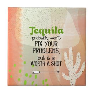 Carreau Tequila - en valeur un tir