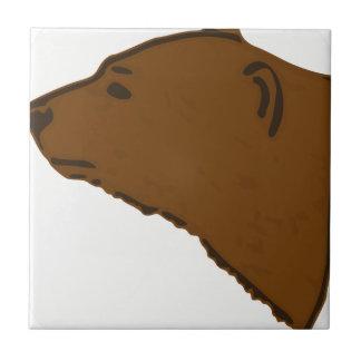 Carreau Tête d'ours