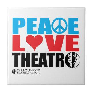 Carreau Théâtre d'amour de paix