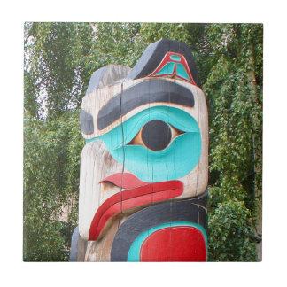 Carreau Totem Polonais, Anchorage, Alaska 2 de Natif
