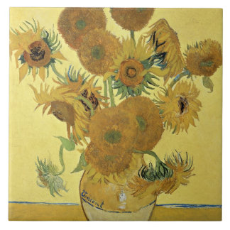 Carreau Tournesols de Vincent van Gogh |, 1888