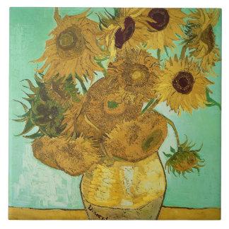 Carreau Tournesols de Vincent van Gogh |, 1888