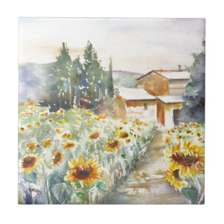Carreau Tournesols en Provence