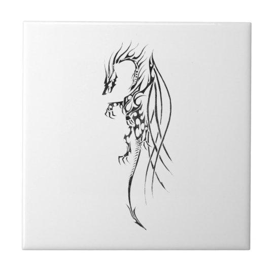 Carreau Tribal dragon