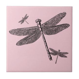 Carreau Trois libellules