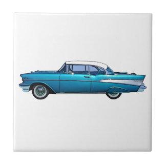 Carreau Tuile 1957 classique de coutume de Chevy BelAire