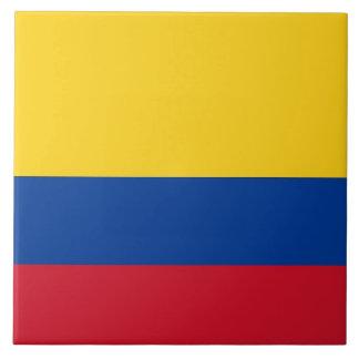 Carreau Tuile colombienne de drapeau