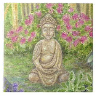 Carreau Tuile de mur de statue de Bouddha