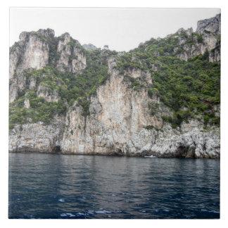 Carreau Tuile de photo de côte d'Amalfi