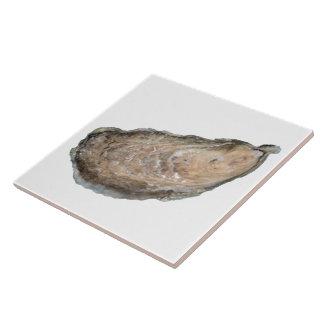 Carreau Tuile d'huître - blanc de la conception D