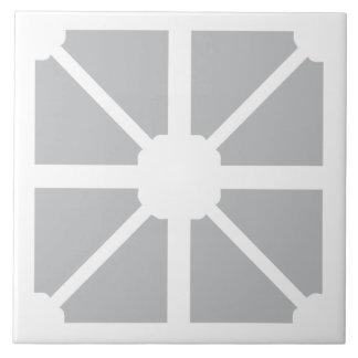 Carreau Tuile grise de mur de formes modernes minimalistes