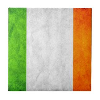 Carreau Tuile irlandaise de drapeau bywhacky