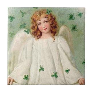 Carreau Tuile irlandaise vintage d'ange