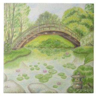 Carreau Tuile japonaise de mur de jardin