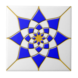 Carreau Tuile marocaine d'étoile