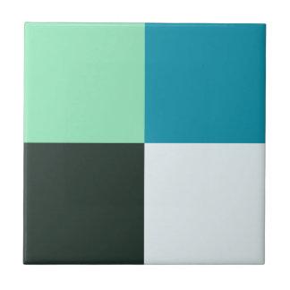 Carreau Turquoise vert-bleu turquoise blanche d'Aqua de