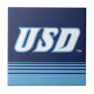 Carreau Université des rayures de San Diego | USD
