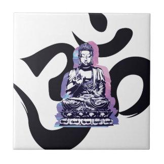 Carreau vague 3 de Bouddha