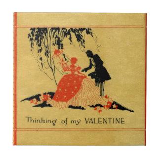 Carreau Valentine vintage