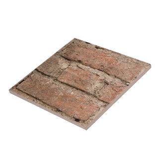 Carreau Vieil arrière - plan orange de brique et de