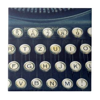Carreau Vieilles clés de clavier vintages de machine à