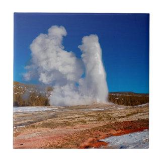Carreau Vieux fidèle de Yellowstone