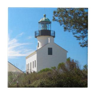 Carreau Vieux phare de Point Loma