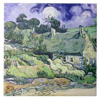 Carreau Vincent van Gogh   a couvert des cottages de