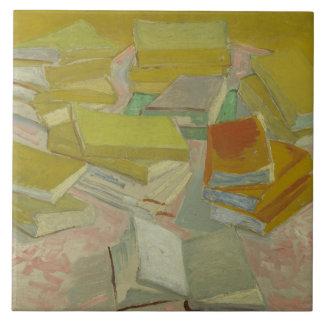 Carreau Vincent van Gogh - piles des romans français