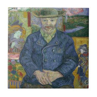 Carreau Vincent van Gogh - portrait de Pere Tanguy