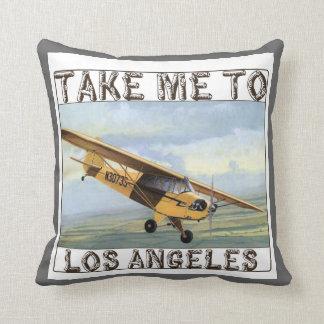 Carreau vintage de Los Angeles Oreillers
