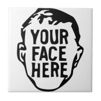 Carreau votre-visage-ici